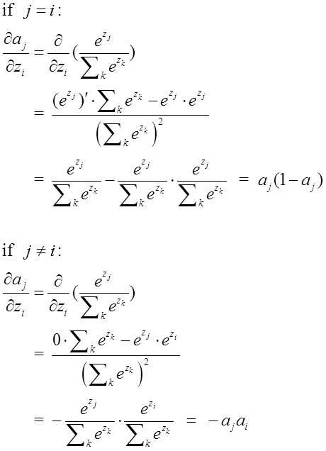 softmax函數求導、配合log似然代價函數訓練ANN - 壹讀