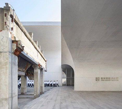 上海龍美術館是如何建造出來的 - 壹讀