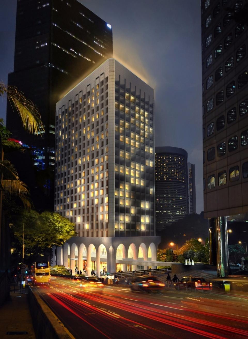 香港地標建築美利大廈,變身現代潮人居所 - 壹讀
