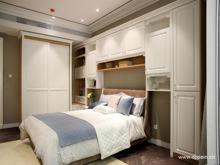 七款臥室床頭儲物櫃設計效果圖案例欣賞 - 壹讀