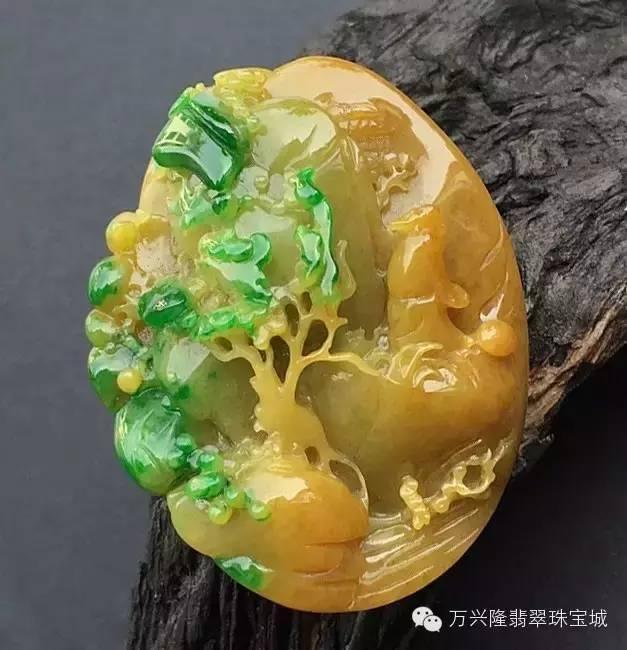 黃加綠翡翠,竟是這般的美。 - 壹讀
