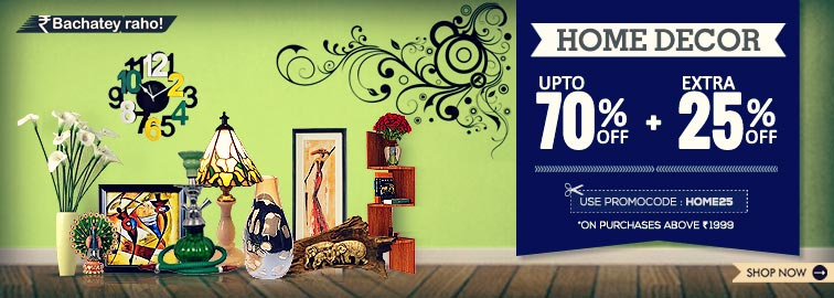 SnapDeal Home & Kitchen Up To 60 Off And Extra 35 Off Online