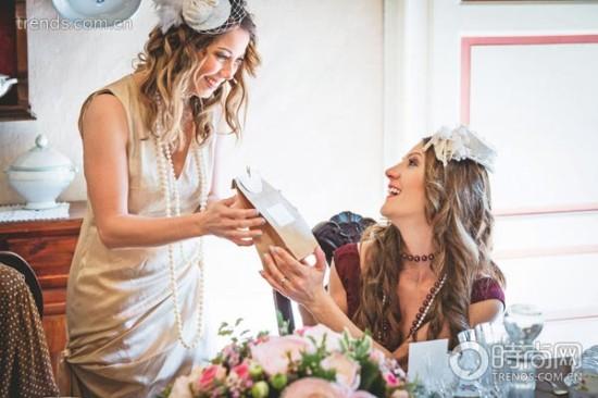 kitchen bridal shower high flow faucet 新娘送礼会享受被爱的幸福 新娘 送礼 嫁妆 新浪时尚 新浪网
