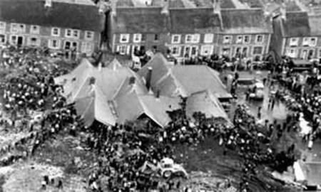 The Aberfan tragedy left 144 people dead