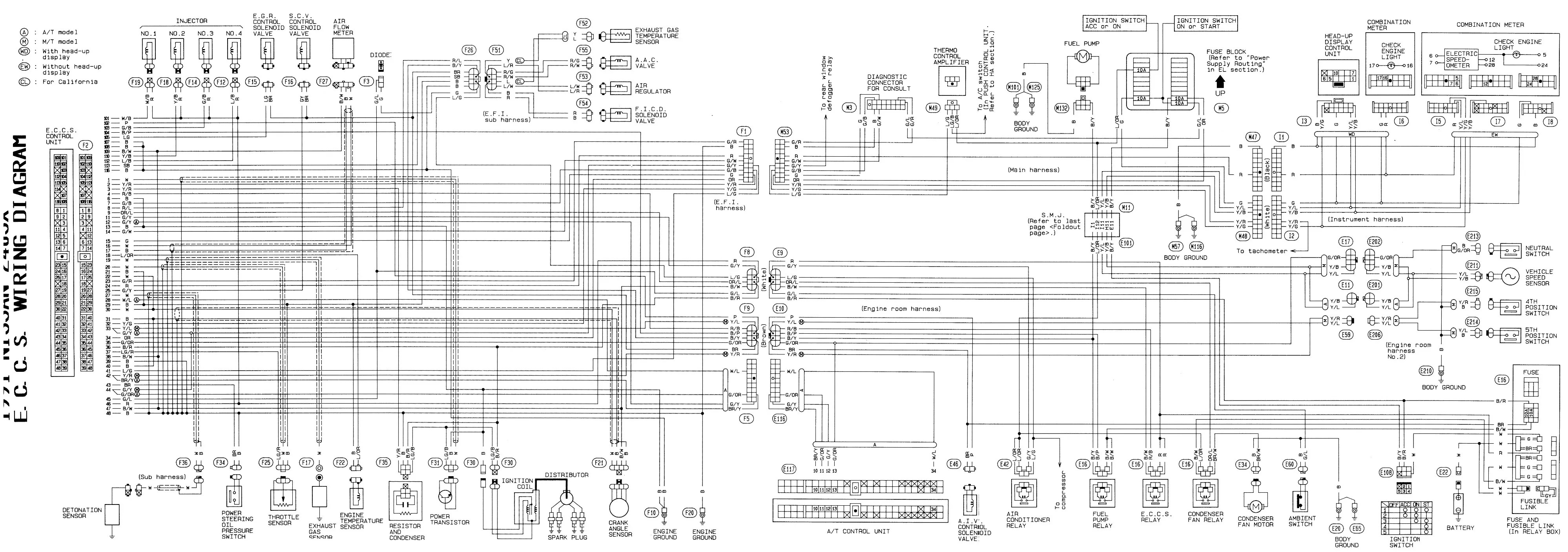 300zx Wire Harness Diagram   Wiring Diagram on