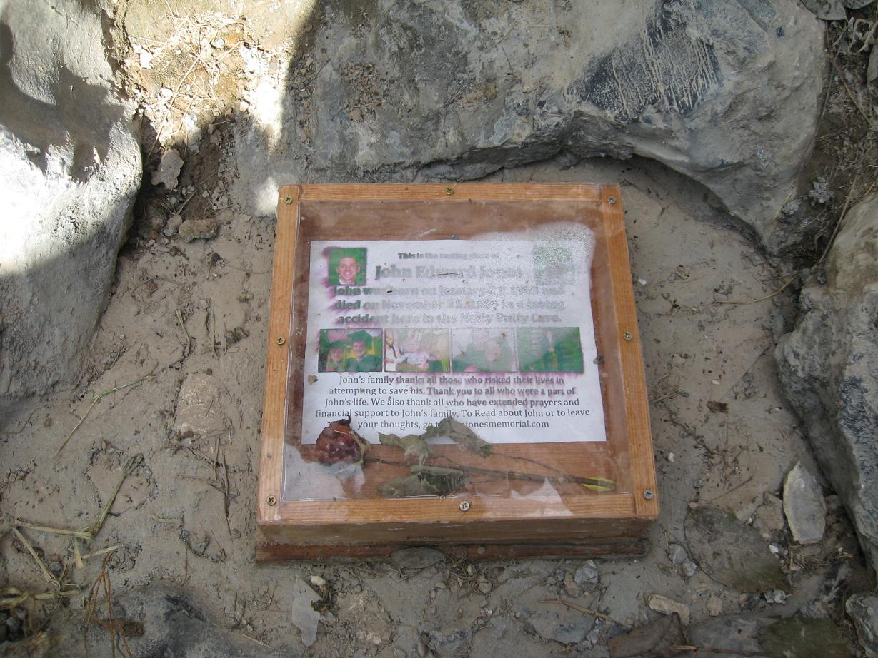Nutty Putty Cave Memorial