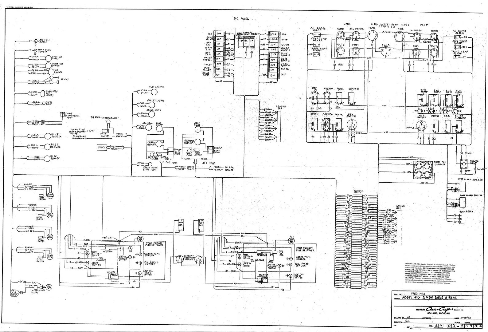 hight resolution of 6 volt wiring diagram chris craft