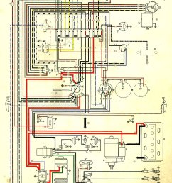72 volkswagen bug wiring harness diagram [ 1038 x 1668 Pixel ]