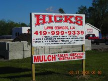 Hicks Lawn Services Llc 2710 Hume Lima 45806