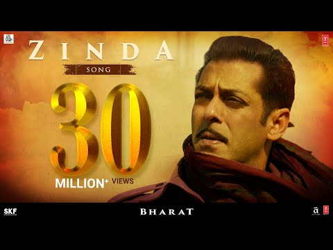 Zinda Song Lyrics-Bharat Movie 2019