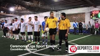 Presentación de jugadores en Liga Sport Emelec