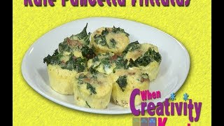Kale & Pancetta Frittatas