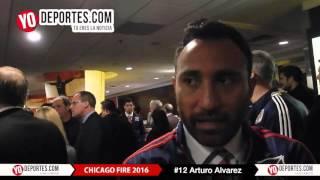 Arturo Alvarez firma con el Chicago Fire