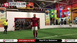 Penales Niupi FC vs Gladiadores Final Chitown Futbol