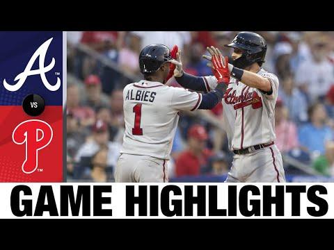 Braves vs. Phillies Game Highlights (7/22/21)   MLB Highlights
