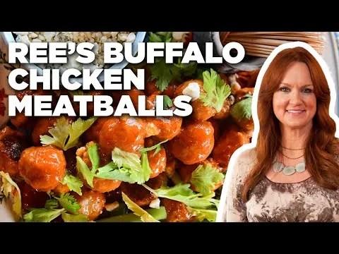Ree Drummond's Buffalo Chicken Meatballs   The Pioneer Woman   Food Network