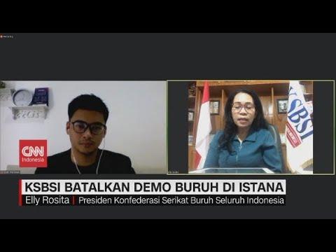 Serikat Buruh KSBSI Batalkan Demo di Istana