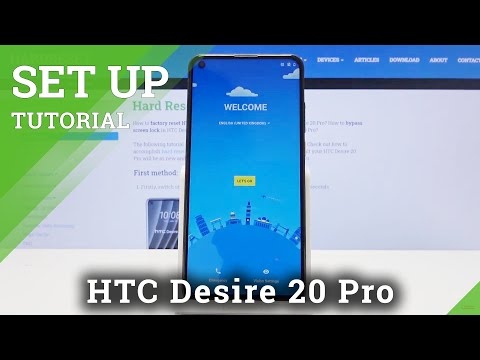 How to Perform Activation Process in HTC Desire 20 Pro – Accomplish Set Up Process