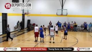 Young Guns vs. Atrevidos Liga Azteca de Basketball
