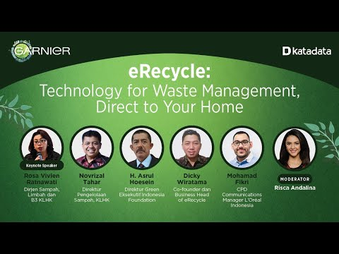 eRecycle: Technology for Waste Management, Direct to Your Home