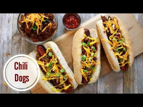 Chili Dogs Made Fast and Easy