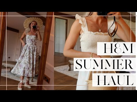 H&M SUMMER HAUL & TRY ON // Fashion Mumblr