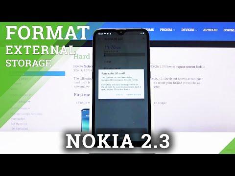 How to Format SD Card in NOKIA 2.3 - Repair Memory Card