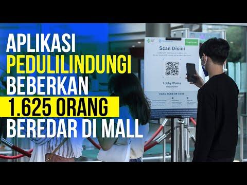Waduh! Ribuan Orang sakit Terdeteksi Beraktivitas di Mall