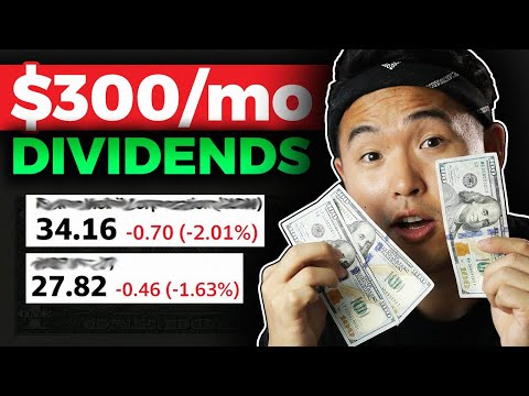 Earning $300/Month Passive Income Dividend Portfolio 2020