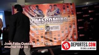 Jose Felix Quezada vs  Alfred Hall