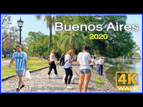 【4K】WALK Buenos Aires ARGENTINA 4K video AR Travel vlog 2020