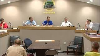7-21-15 Ridgetop City Council Meeting