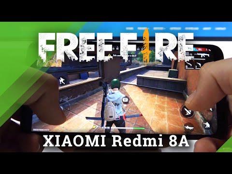 Garena Free Fire Gameplay on Xiaomi Redmi 8A – FPS Checkup