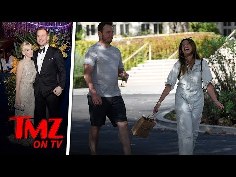 Something Is Really Funny To Chris Pratt | TMZ TV
