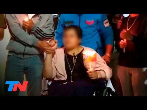Horror en Puerto Deseado: así salió María Mercedes del hospital para volver a Salta sin su hijito