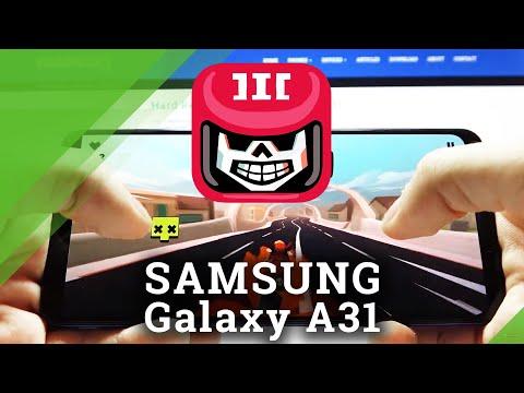 Hellrider 3 Gameplay on Samsung Galaxy A31 - Game Performance Test
