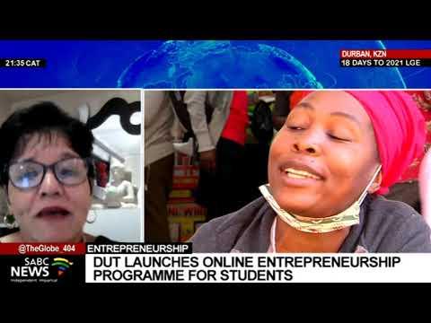 Anshu Padayachee explains THENSA's Online Entrepreneurship Programme