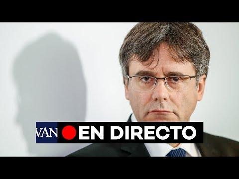 [EN DIRECTO] Puigdemont habla en Berlín mientras se produce el juicio al