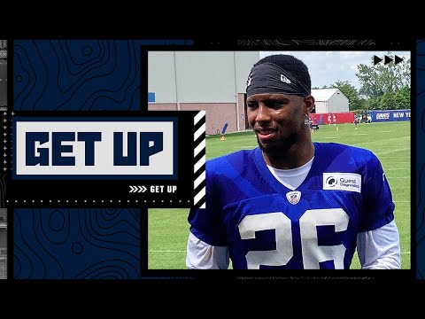 How important is Saquon Barkley's return to Daniel Jones and the Giants' offense? | Get Up