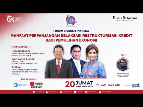 Webinar Forum Diskusi Finansial