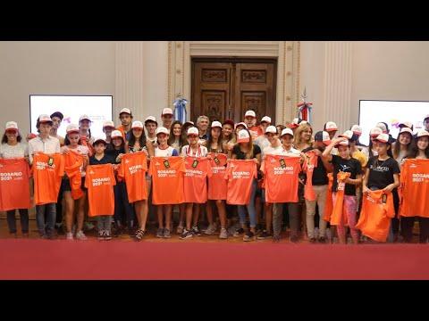 Reconocimiento a deportistas santafesinos convocados al campus YOG DAKAR 2022