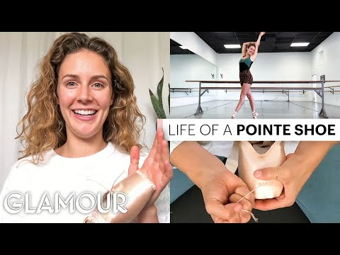 Ballerina Breaks Down How To Customize Pointe Shoes | Glamour