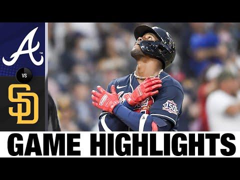 Braves vs. Padres Game Highlights (9/25/21) | MLB Highlights