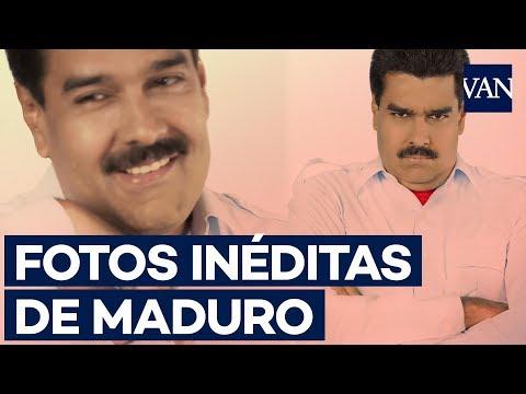 Las imágenes nunca vistas del Maduro más bufón
