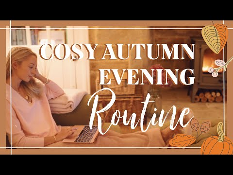 COSY AUTUMN 🍂 FALL EVENING ROUTINE + 🎃 PUMPKIN RISOTTO RECIPE 🎃 // Fashion Mumblr