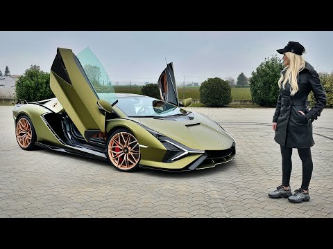 World's First Hybrid Lamborghini Start Up | Sián FKP 37
