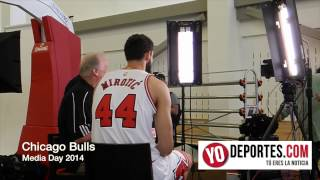 Chicago Bulls Media Day 2014