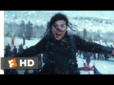Iceman (2014) - Kung Fu Snowboarding Scene (4/10) | Movieclips