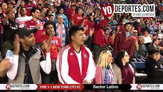Sector Latino Chicago Fire vs. New York City FC