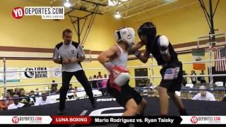 Mario Rodriguez vs. Ryan Taisky Joliet Luna Boxing 2015